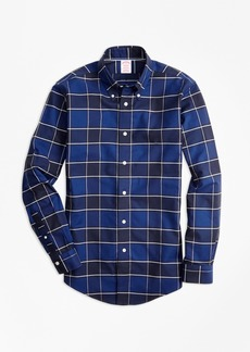 Brooks Brothers Non-Iron Madison Fit Graph Check Sport Shirt