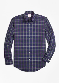 Brooks Brothers Non-Iron Madison Fit Malcolm Tartan Sport Shirt