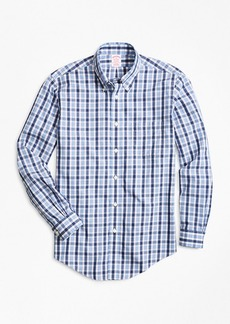 Brooks Brothers Non-Iron Madison Fit Outline Check Sport Shirt