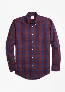 Brooks Brothers Non-Iron Madison Fit Tartan Sport Shirt