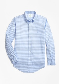 Brooks Brothers Non-Iron Milano Fit Gingham Sport Shirt