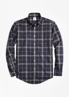Non-Iron Regent Fit Brooks Brothers Signature Tartan Sport Shirt