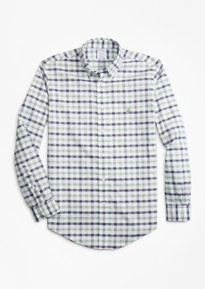 Brooks Brothers Non-Iron Regent Fit Dobby Gingham Sport Shirt