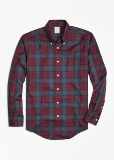 Brooks Brothers Non-Iron Regent Fit Lindsay Tartan Sport Shirt