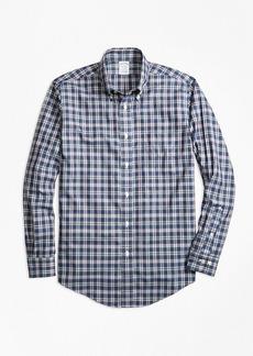 Brooks Brothers Non-Iron Regent Fit Multi-Check Sport Shirt
