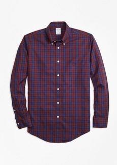 Brooks Brothers Non-Iron Regent Fit Tartan Sport Shirt
