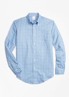 Brooks Brothers Non-Iron Regent Fit Tattersall Sport Shirt
