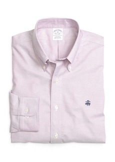 Brooks Brothers Non-Iron Slim Fit Solid Sport Shirt