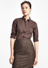 Brooks Brothers Non-Iron Tailored-Fit Stripe Dress Shirt