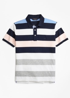 Brooks Brothers Original Fit Roadmap Bold Stripe Polo Shirt