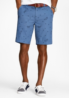 Brooks Brothers Paisley Cotton Jacquard Shorts