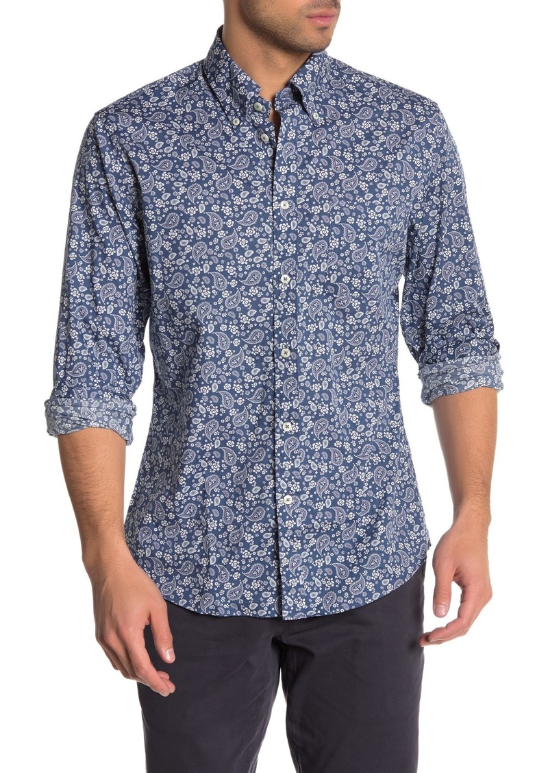 Brooks Brothers Paisley Print Regent Fit Shirt
