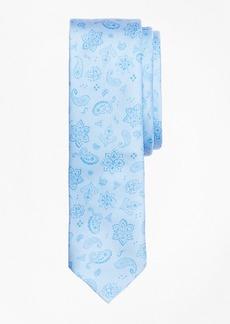 Brooks Brothers Paisley Silk Jacquard Tie
