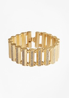 Brooks Brothers Pave Detail Bar Bracelet
