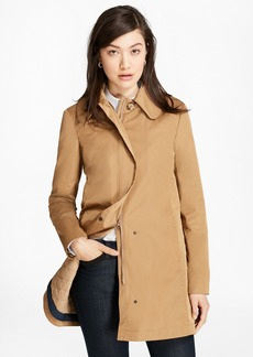 Brooks Brothers Peter Pan Collar Coat