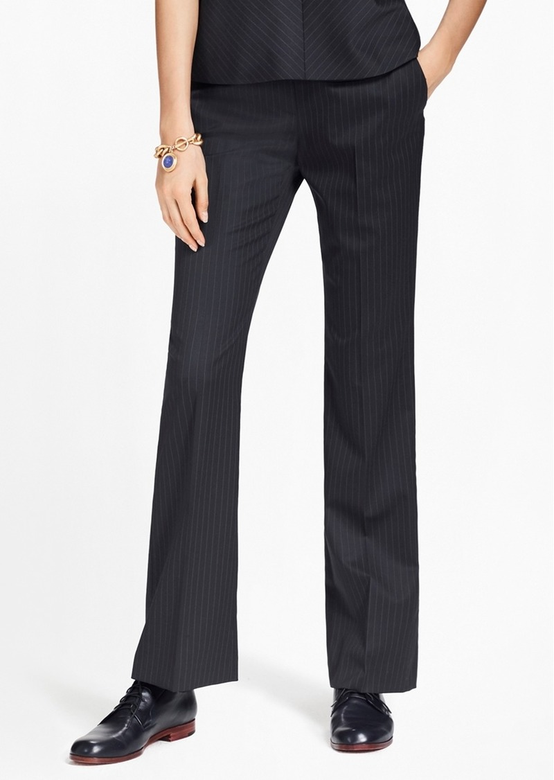fb6cafb782 On Sale today! Brooks Brothers Pinstripe Stretch-Wool Pants