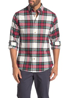 Brooks Brothers Plaid Long Sleeve Regent Fit Shirt