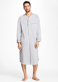 Brooks Brothers Plaid Nightshirt