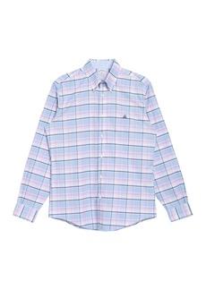 Brooks Brothers Plaid Regent Fit Oxford Shirt