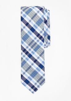 Brooks Brothers Plaid Seersucker Tie
