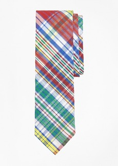 Brooks Brothers Plaid Seersucker Tie