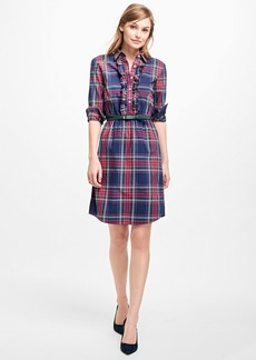 Brooks Brothers Plaid Shirt Dress