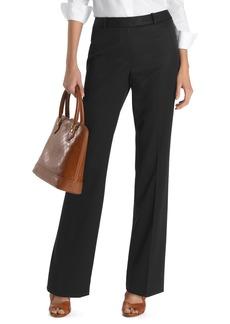 Brooks Brothers Plain-Front Caroline Fit Gabardine Trousers
