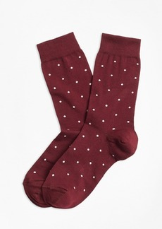 Brooks Brothers Polka Dot Socks