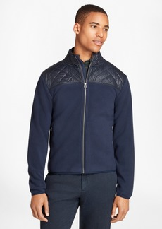 Brooks Brothers Quilted-Yoke Polar Fleece Jacket