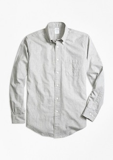 Brooks Brothers Regent Fit Heathered Dot Sport Shirt