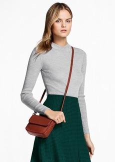 Brooks Brothers Rib-Knit Merino Wool Sweater