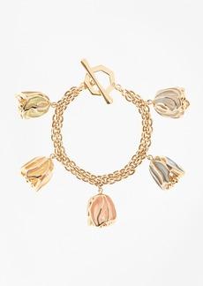 Brooks Brothers Rosebud Charm Bracelet