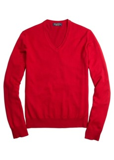 Brooks Brothers Saxxon™ Wool V-Neck Sweater