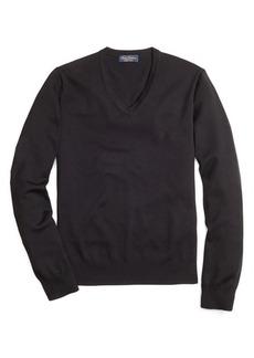 Brooks Brothers Saxxon™ Wool V-Neck Sweater