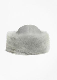 Brooks Brothers Shearling Hat