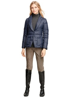 Brooks Brothers Short Nylon Puffer Jacket