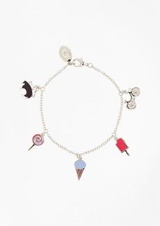 Brooks Brothers Silver 6-Charm Bracelet