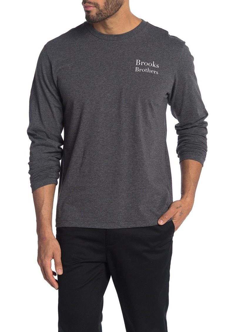 Brooks Brothers Skier Long Sleeve T-Shirt