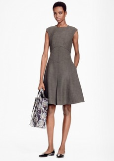 Brooks Brothers Sleeveless A-Line Dress