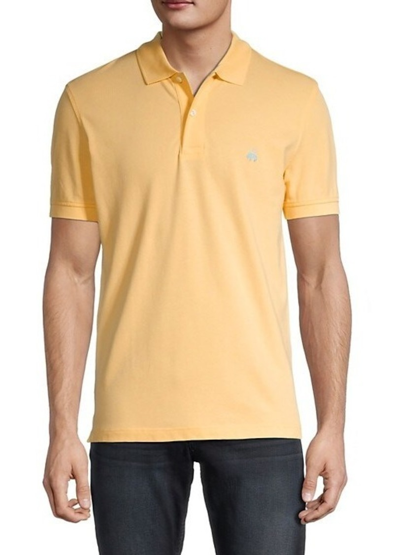 Brooks Brothers Slim-Fit Logo Polo