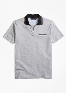Brooks Brothers Slim Fit Micro-Bird's-Eye Polo Shirt