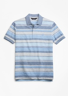 Brooks Brothers Slim Fit Multi-Stripe Polo