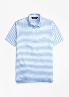 Brooks Brothers Slim Fit Self-Collar Stripe Polo Shirt