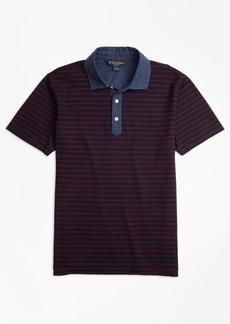 Brooks Brothers Slim Fit Stripe Polo Shirt