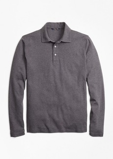 Brooks Brothers Slim Fit Supima® Cotton Long-Sleeve Polo Shirt