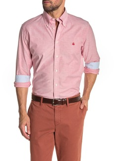 Brooks Brothers Solid Oxford Stretch Regent Fit Shirt