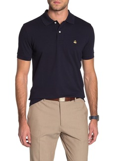 Brooks Brothers Solid Pique Slim Fit Polo