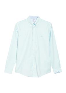 Brooks Brothers Solid Regent Fit Oxford Shirt