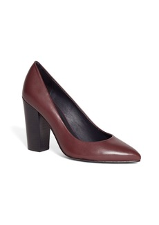 Brooks Brothers Stacked Heel Pumps