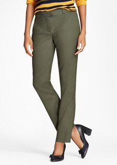 Brooks Brothers Straight-Leg Stretch-Wool Pants